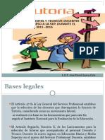 presentacion Tutoria Tutorado 2015 - 2016