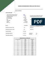 Diseño Reservorio 200 m3 - Norma ACI 350