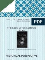 effects of ptsd on school-aged children  slides-1