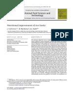 Nutritional Improvement of Rice Husks (2009)