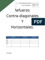 Ficha de Seguridad Trabajo Instalacion Contra-Diagonales y Horizontales