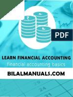 Bilal Ahmed Shaik Accounting Basics