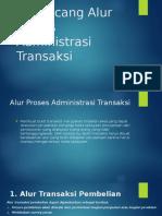 Merancang Alur Proses Administrasi Transaksi