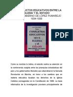 Mora, J (1996) Los conflictos educativos entre la iglesia y el estado.pdf