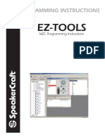 Ez Tools Programming Instructions