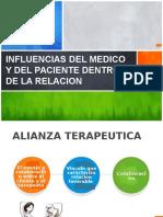 Influencias Del Medico y Del Paciente Dentro De