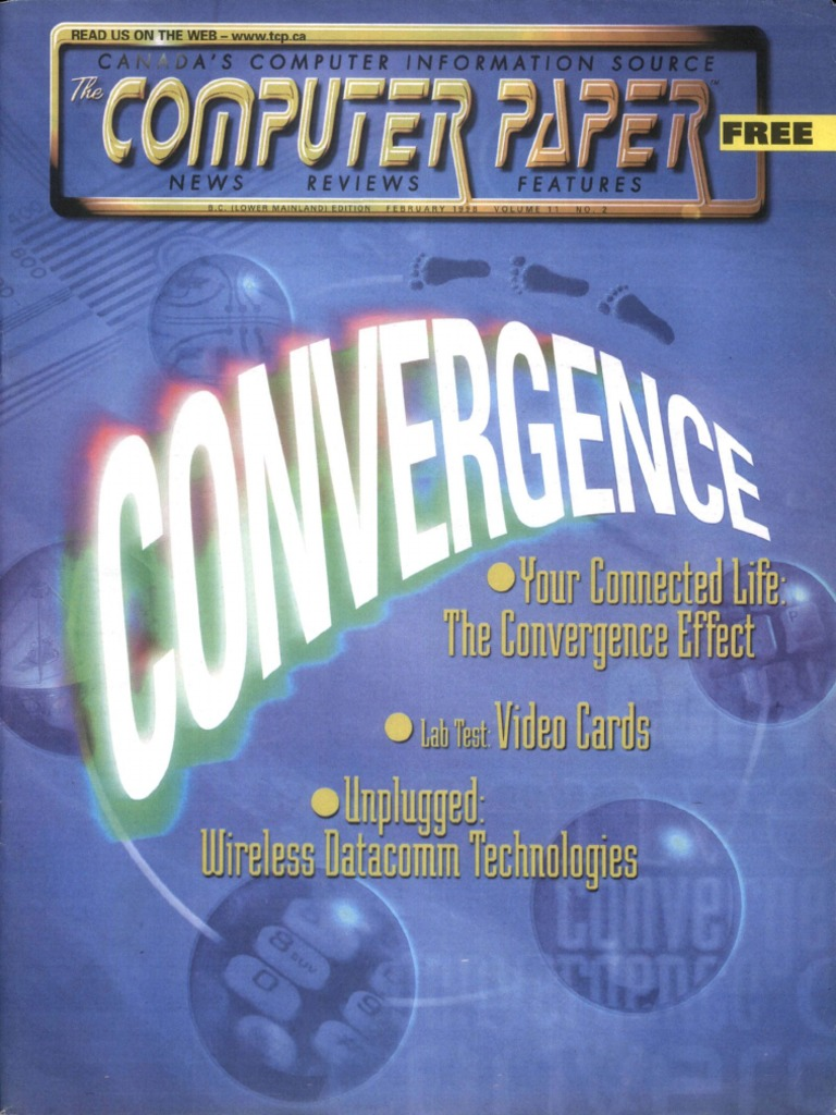 1998 02 The Computer Paper Bc Edition World Wide Web Technology Compaq Presario C700 Rj 11 Modem 45 Network Connector Pinout Assignment