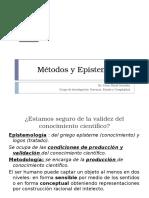 Método y Epistemologia