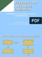 Protestantismo na pesquisa acadêmica