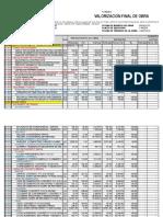 Informe de Valoriz Mayo 2015