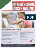 Summer School Classes Online