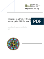 Measuring Policy