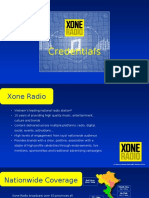 Xone Radio Credentials