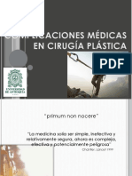 Complicaciones Cx Plastica