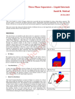 Three Phase Separator - Liquid Internals