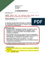 12. EBA  LOS DIEZ MANDAMIENTOS NO HABLARAS CONTRA TU PROJIMO FALSO TESTIMONIO  RECS.doc