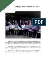 MTsN Model Sapu Bersih Pada KSM 2016