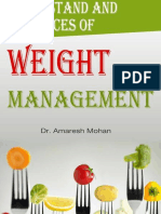 Understanding & Practices of Weight Management