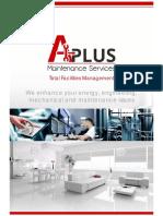 A Plus Maintenance TFM Brochure