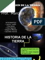 origen y evolución  Tierra