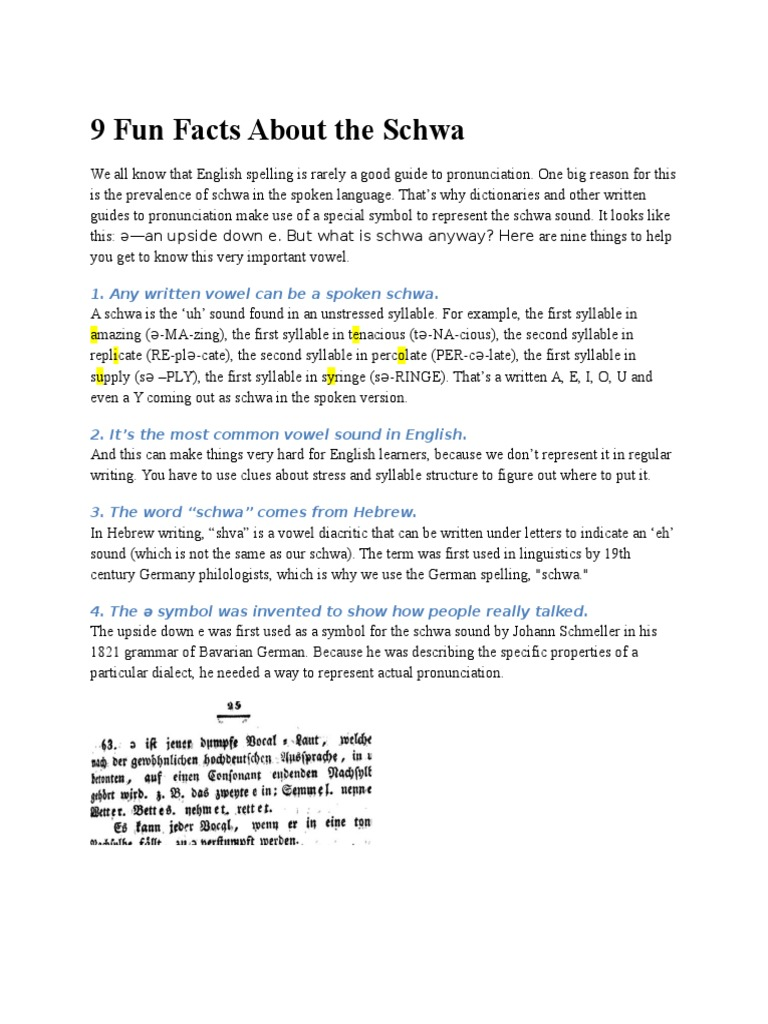9 Fun Facts About The Schwacx Stress Linguistics Symbols