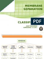 Membrane Classification