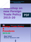 Foreign Trade Policy 2015-20