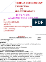 Material Tchnology