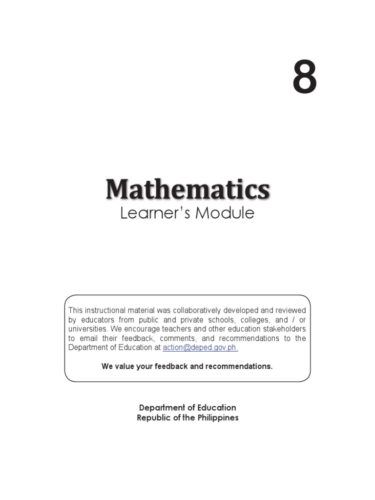 Math8 LM U1 Factorization