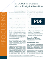 CGAP Focus Note AML CFT Strengthening Financial Inclusion and Integrity Aug 2009 French