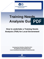 Training Needs Analysis (TNA) Guide