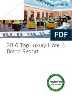2016 Top Luxury Hotel & Brand Report by ReviewPro