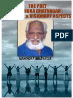 THE POET MAHENDRA BHATNAGAR