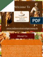 Indian Restaurant Near Frankfurt Train Station