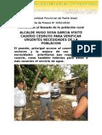 Nota de Prensa 2016 - 192