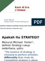 Arwin Rasyid Strategi Karir Di Era Kompetisi Global Rev Final