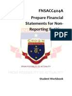 Student Workbook FNSACC404A