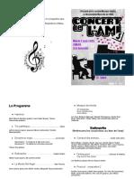 Le Programme Concert Ami 3