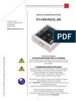 Pvi-usb-rs232 485-Installer Manual It Rev a m000009ai