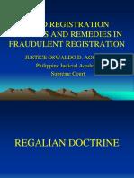 9. Trial Skills in Land Registration - Justice Oswaldo Agcaoili