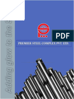 Premier Steel Complex .p.ltd Profile