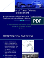 40 Years of Transit Oriented Development