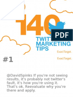 140 twitter tips for Car Dealers