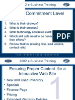Ford EBusiness Dealer Training