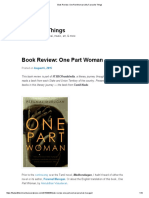 Book Review_ One Part Woman _ My Favourite Things