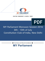 MY Parliament | Monsoon Session 2016
