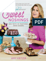 Sweet Noshings - New Twists on Traditional Jewish Desserts