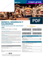 Munich Innsbruck y Salzburgo Mercadillos Navidad