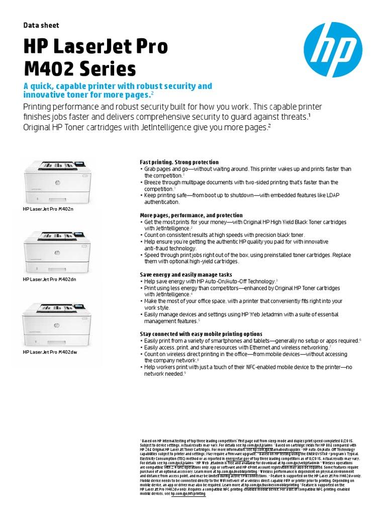 HP LaserJet Pro 4202 | Microsoft Windows | 64 Bit Computing