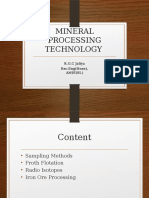 Mineral processing Methods